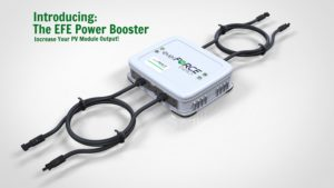 Solar Power Booster Adaptor